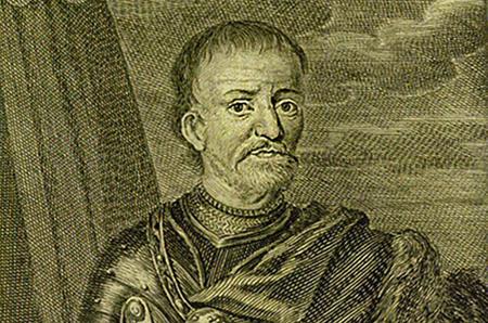 Гравюра гетмана Ивана Мазепы из немецкого издания за 1704 г.