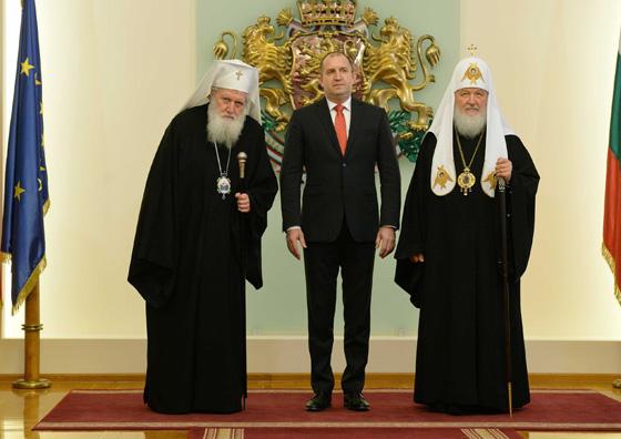 с Президентом Болгарии Руменом Радевым