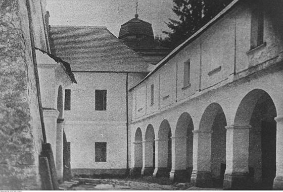 Унівська лавра у 1934 році (фото audiovis.nac.gov.pl)