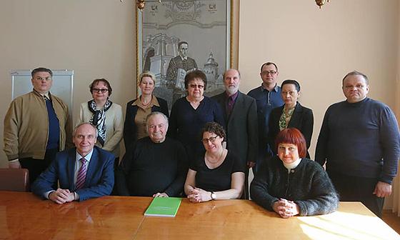 З колегами-релігієзнавцями