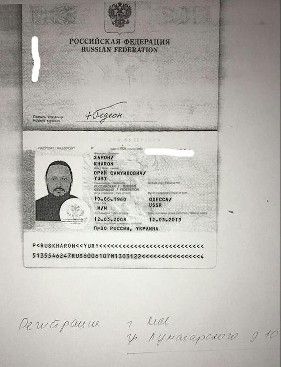 Копія російського паспорту