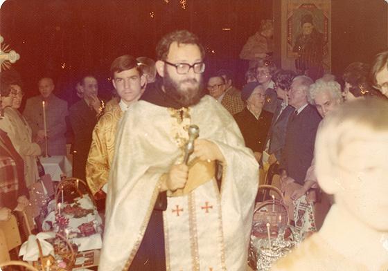 00. Свячення пасок у Монреалі, 25 квітня 1976 року.