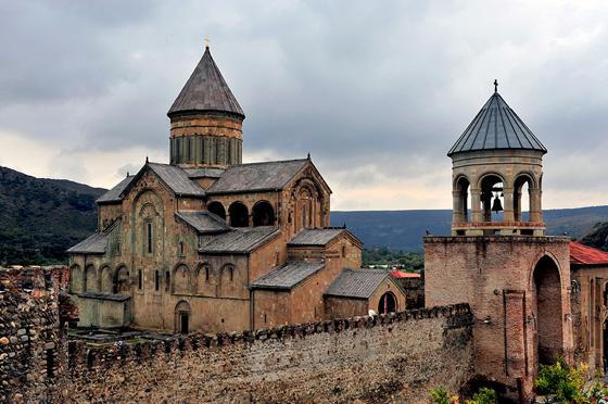 исторический кафедральный Собор в Мцхети
