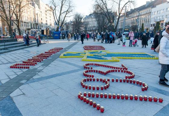 Акція пам'яті у Львові