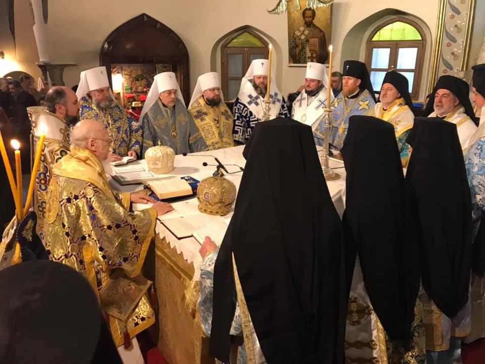 Сопричастие Вселенского Патриархата и ПЦУ