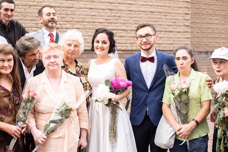 Особливі гості на весіллі