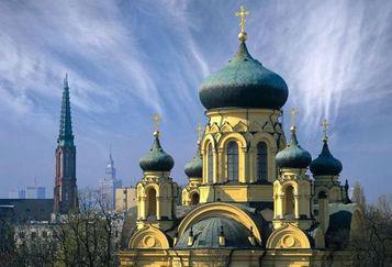 Кафедральний собор святої Марії Магдалини, Варшава. Фото з сайту pravoslavie.ru