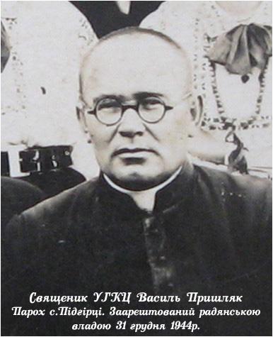 о. Василь Пришляк