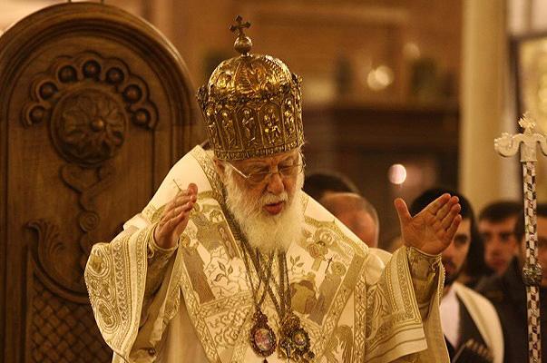 Патріарх Грузії Ілля ІІ, Фото eadaily.com