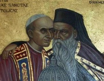 Servant_of_Pope_Paul_VI_of_Rome_and_Patriarch_Athenagoras_I_of_Constantinople_embrace_ecumenism_icon.jpg