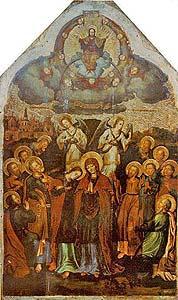 Ікона Вознесіння авторства Й.Кондзалевича