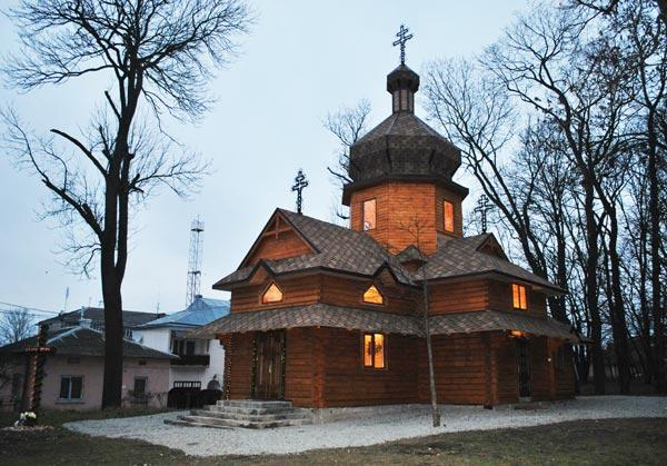 дерев'яна церква Пресвятої Діви Марії