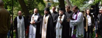 Orthodox and Catholics of Kharkiv honor victims of Second World War
