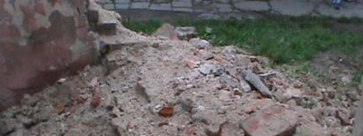 Remains of ancient Capuchin monastery in Volyn region collapsed