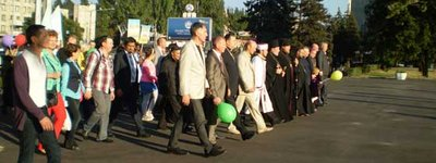 Family is a union of man and woman, - Zaporizhya holds second March for Life
