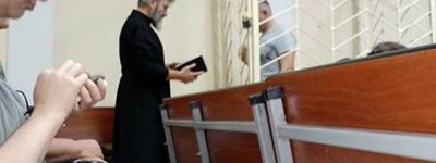 Ukrainian Orthodox bishop of Crimea visited in court of the Muslim imprisoned by Russian authorities