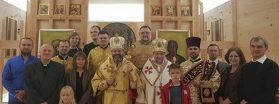 Head of the Ukrainian Catholics visited the Belarusian Mission in London