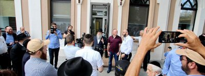 Historical synagogue of Dnipro opens following reconstruction