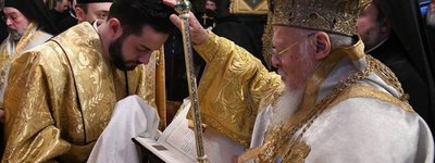 For the first time ever, Ukrainian becomes Patriarch's deacon in Constantinople