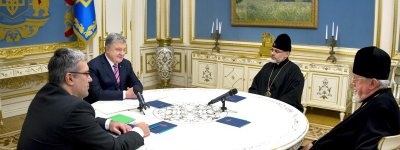 President met with bishops of the Ukrainian Orthodox Church in the United States