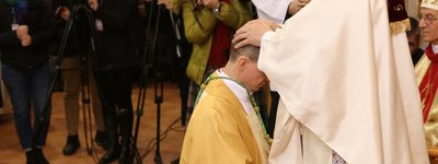 A new bishop of the RCC in Ukraine ordinated in Zakarpattia