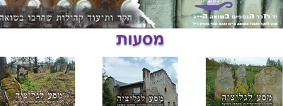 A new website to tell about the Jewish heritage of Western Halychyna