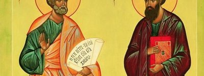 The feast of Saints Peter and Paul is celebrated today according to Julian calendar