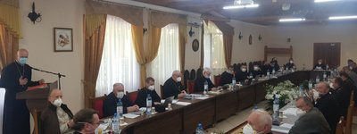 The Eighty-fifth session of the Synod of Bishops of the UGCC held in Zarvanytsia