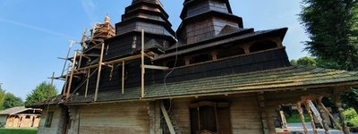 Ukrainian Diasporas in Canada and Italy help restore an old church in Lviv