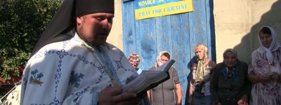 The priest who was tortured in 2014, develops the Ukrainian Church in Donbas