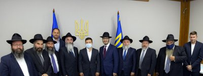 President called on Ukrainian rabbis to help avoid crowds during Rosh Hashanah celebrations in Uman