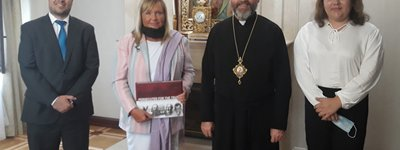 His Beatitude Sviatoslav held a meeting with Extraordinary and Plenipotentiary Ambassador of Argentina to Ukraine