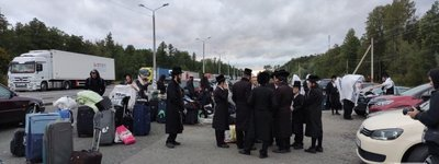 Hasidim are withdrawing from Ukrainian-Belarusian border
