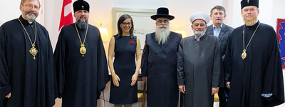 Canadian ambassador meets with the heads of Churches and religious organizations in Ukraine