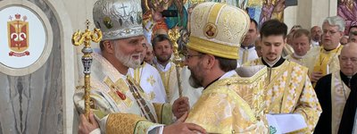 Patriarch of the UGCC congratulates Bishop Borys Gudziak on his sixtieth birthday - фото 1