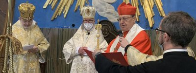 First Exarch of the UGCC for Ukrainians in Italy enthroned in Rome