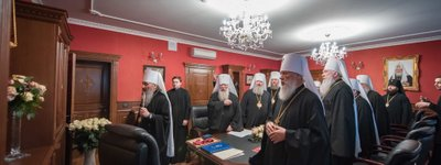 The Synod of the UOC-MP yet again calls Patriarch Bartholomew's actions concerning Ukraine anti-canonical