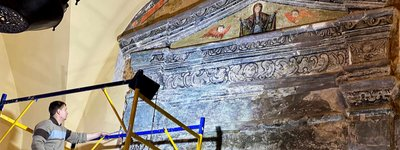 A new stage of restoration has started in St. Sophia Cathedral