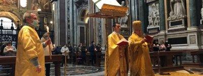 The Heavenly Hundred Heroes were commemorated at the Papal Basilica of Santa Maria Maggiore