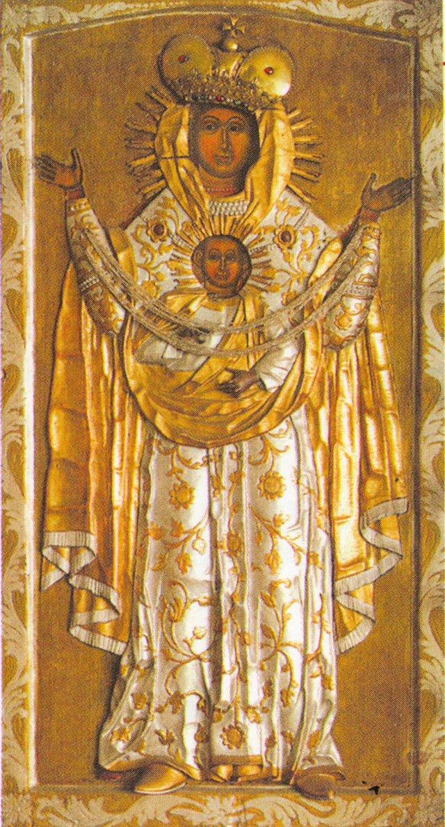 Жидачівська Богородиця Знамення, XVI ст. - фото 51215