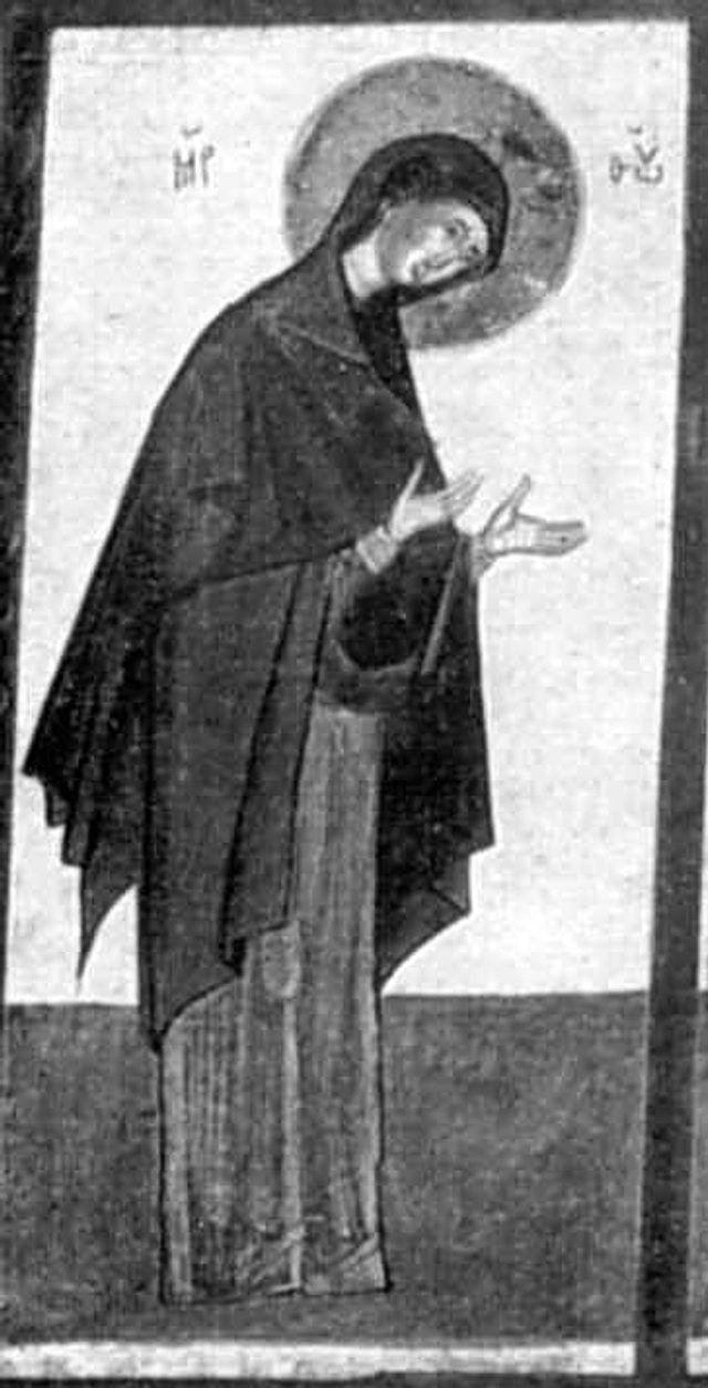 Богородиця з деісусного ряду с. Ванівка, XV ст. - фото 51216