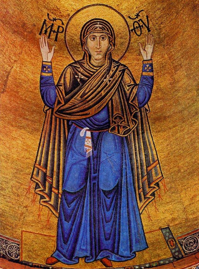 мозаїка Оранта, Собор Софія Київська, ХІ століття - фото 51213