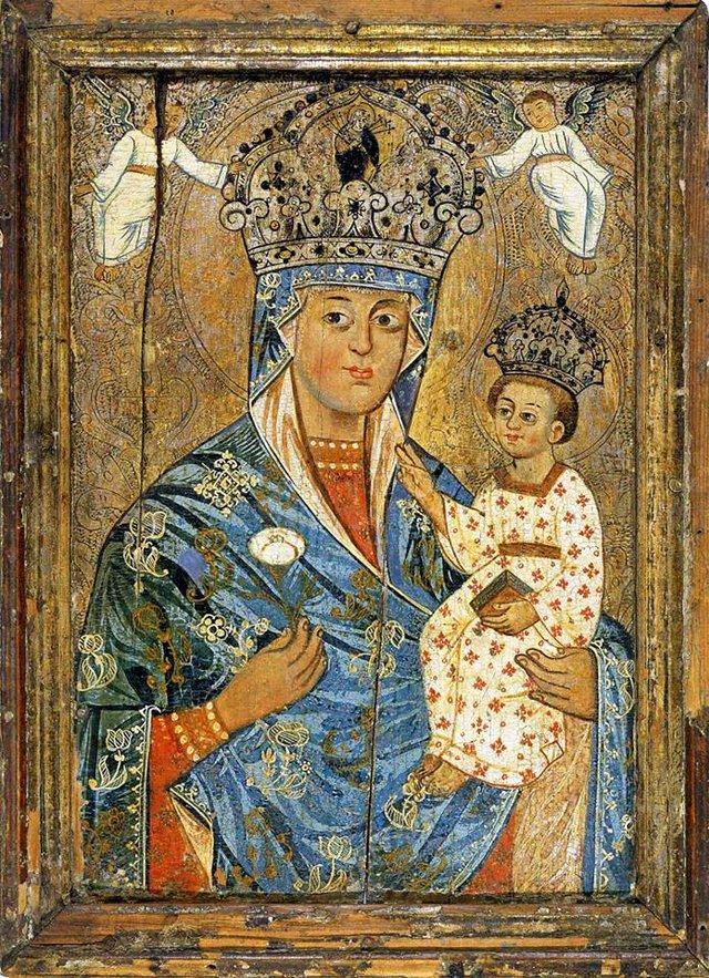 Богородиця Нев'янучий Цвіт, XVIII ст. - фото 51210