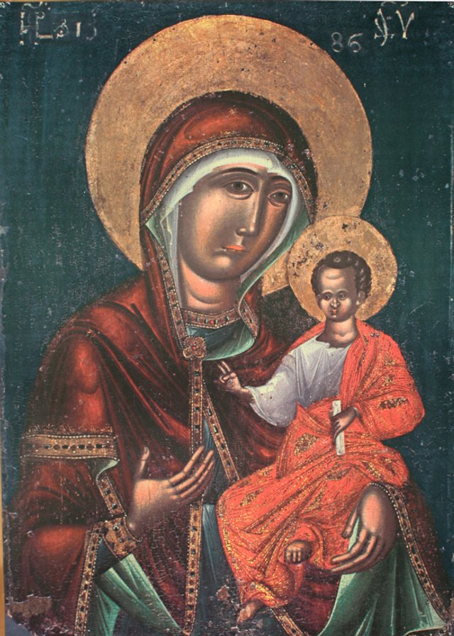 Львівська Богородиця XIV ст. - фото 51202