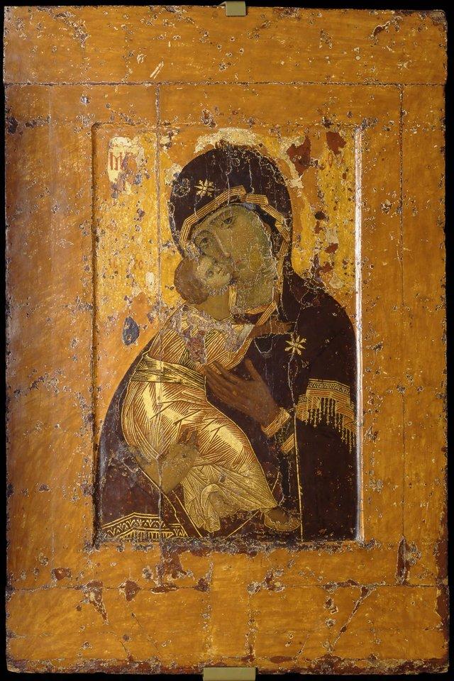 Вишгородська або Володимирська Богородиця, ХІІ ст. - фото 51219