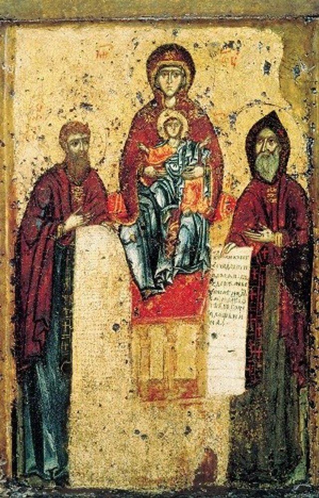 Богородиця Свенська-Печерська, 1144 р. - фото 51211
