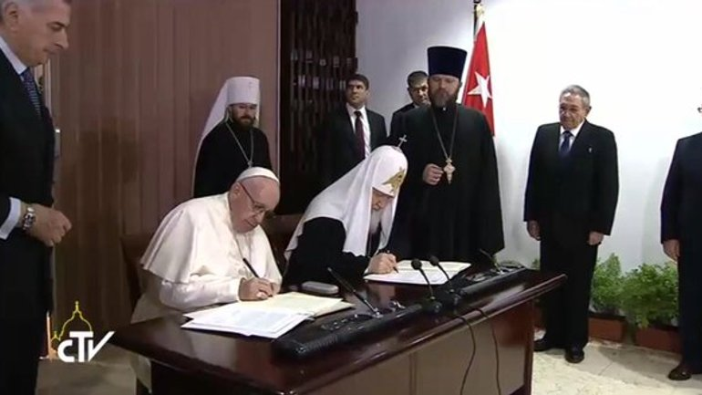 Joint Declaration of Pope Francis and Patriarch Kirill - фото 1