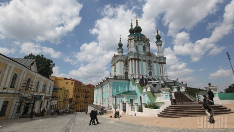 Poroshenko suggests to transfer St Andrew's Church in Kyiv to Ecumenical Patriarchate for permanent use - фото 1