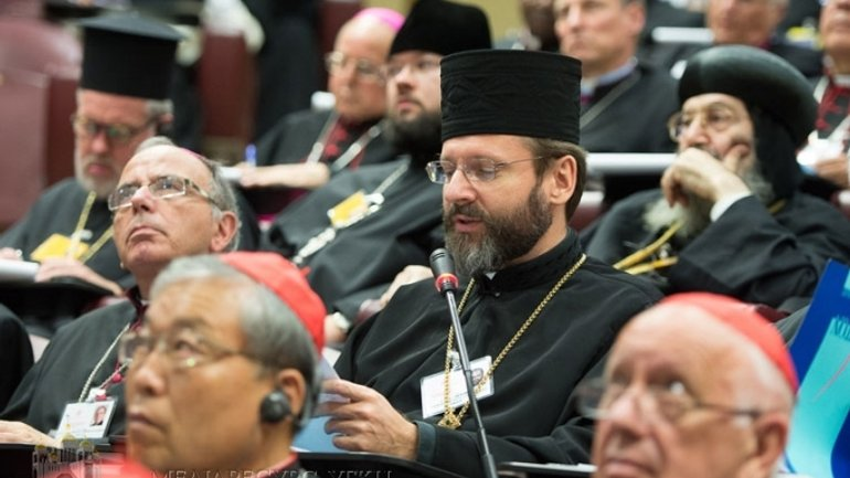 Head of UGCC explains at Pontifical Synod what youth expects of Church today - фото 1