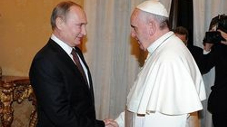 Putin in Vatican to discuss restoration of Christian shrines in Syria, Roman Church's humanitarian projects in Donbass, Venezuela - фото 1